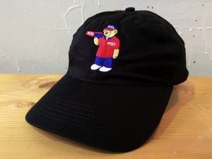 [ PIZZA ] PIZZA BEAR DELIVERY BOY HAT