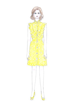 原画 miranda in yellow