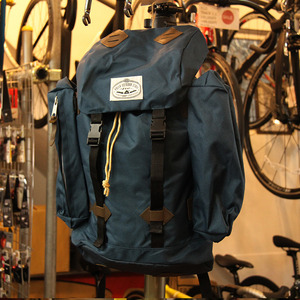 【30%OFF】POLeR OUTDOOR STUFF Retro Rucksack / Navy