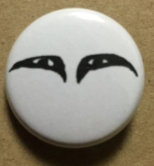 SKIZOPHRENIA - 25mm button(yoshio eye)