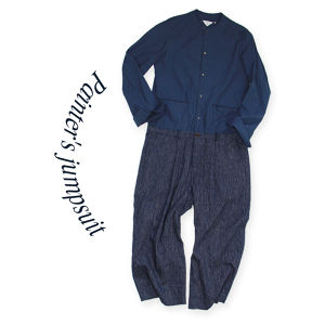 Painter's jumpsuit [Navy]