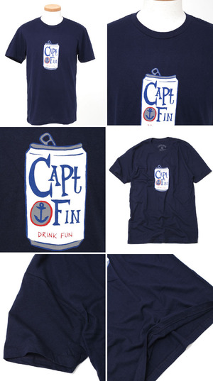 CAPTAIN FIN/キャプテンフィン プリントTシャツ tee T CFMPSS084 SUMMER 2014 T-Shirts S/S Tee