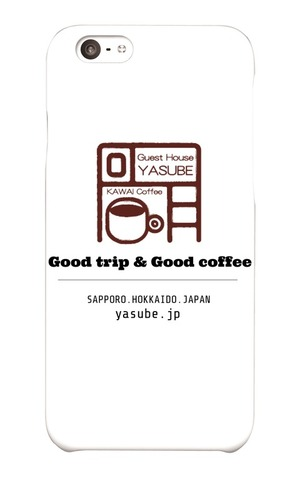 iPhone6ケース「Good trip & Good coffee」