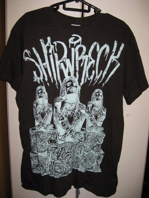SHIPWRECK brown T-SHIRT [M] USED