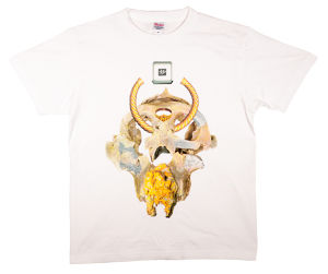 "HACHI Collage T-shirt Collection  《蜂の解》  ""四の怪"""