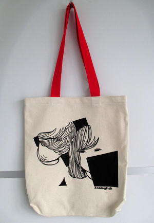 【SALE】Analogfish BX TOTE [RED]