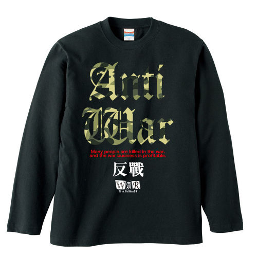 ANTI-WAR : 2【FULL COLOR / LONG SLEEVE】CAMOUFLAGE