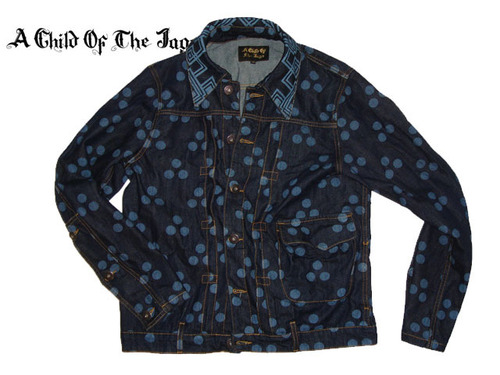 【10%OFF送料無料!展示サンプル】A Child of the Jago/DOT JACKET&TROUSERSセットアップ