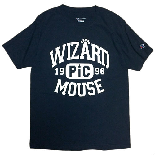 PICTURE MOUSE■WIZARD Tsh(NAVY)