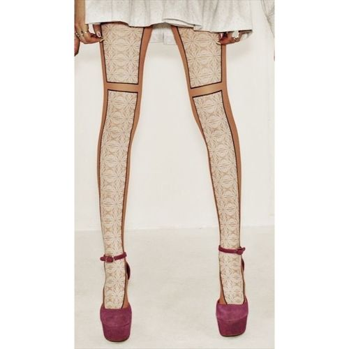 Fake Lace Tights【meewee-dinkee】