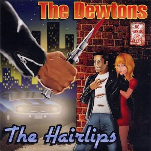 """the dewtons w/the hairlips split 7"""""""