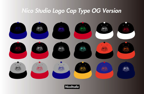 [ Nico Studio Logo Cap Type OG Version ]