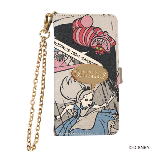 DISNEY/COMIC×METAL iPhoneケース /YY-D001 PK