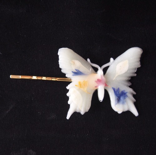 Butterfly Hairpin (PASTEL GREEN)