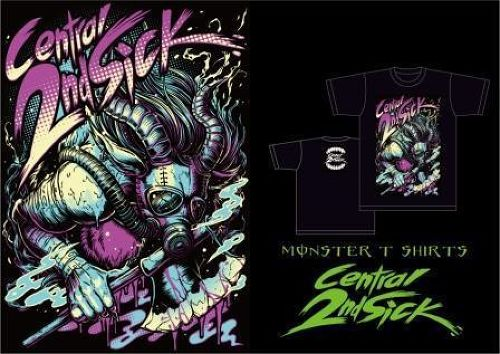 C2S MONSTER T-SHIRTS / Central 2nd Sick