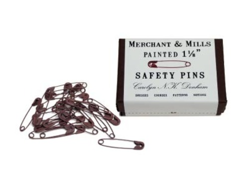 Merchant&Mills  Painted Safety Pins