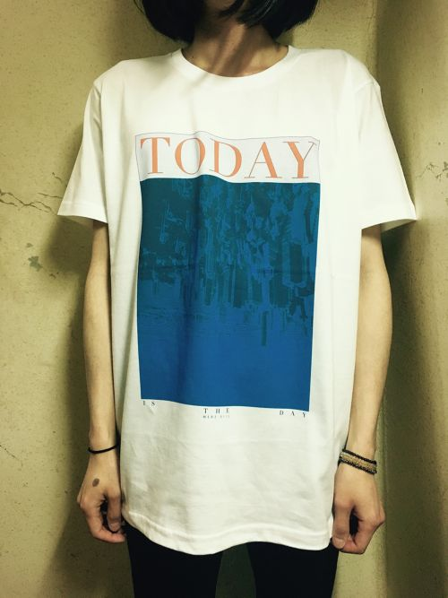 """TODAY is the day"" T-shirts (MERZ-0115)"