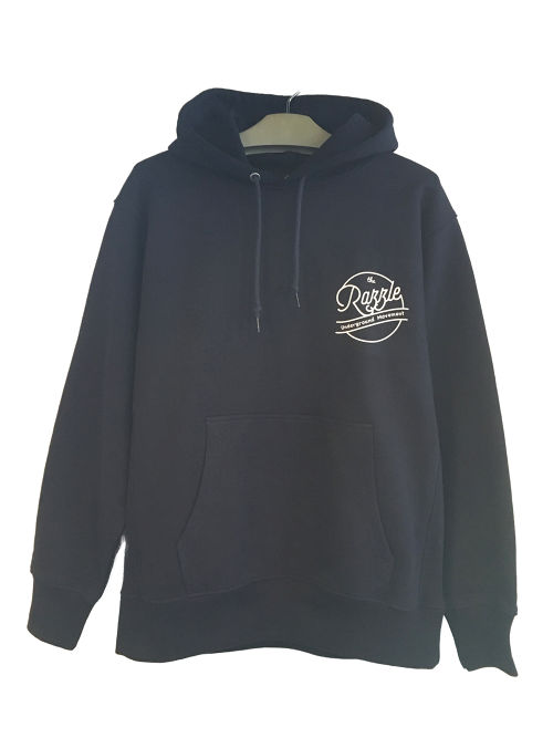 RAZZLE / Circle Logo PULL OVER PARKA / NAVY