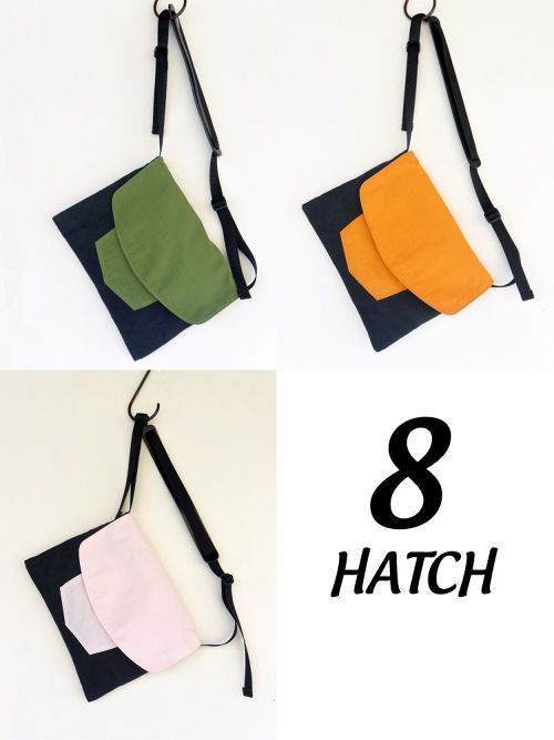 MARINEDAY 「8」 HATCHサコシュ