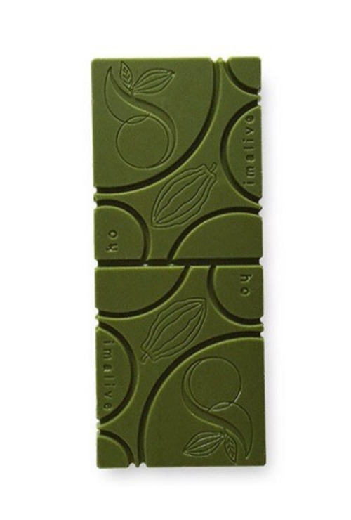 matcha (抹茶)raw chocolate