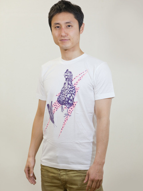 Rooster T-shirt White
