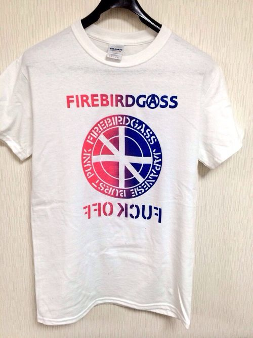 "FIREBIRDGASS""CIRCLE LOGO QUEEN "" T-SHIRT【QUEEN】"