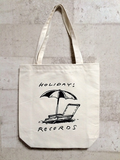 HOLIDAY! RECORDS ロゴ トートバッグ