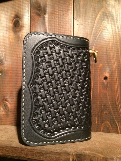 【Basket medium wallet】