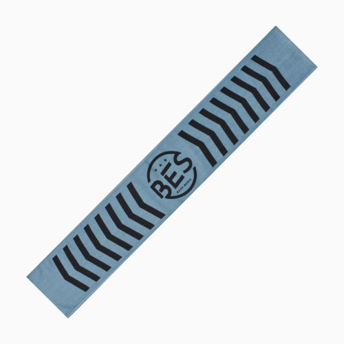 "BES BASE MUSIC TOWEL ""Smoky Blue"" [送料含]"