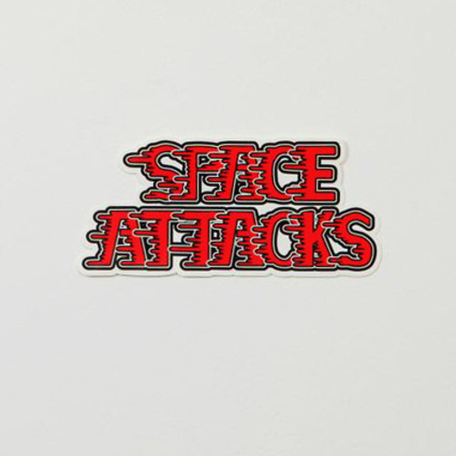 SPACE ATTACKS ステッカー