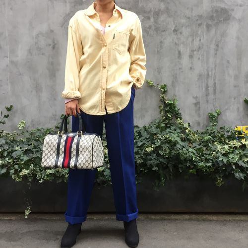 GUCCI yellow shirt
