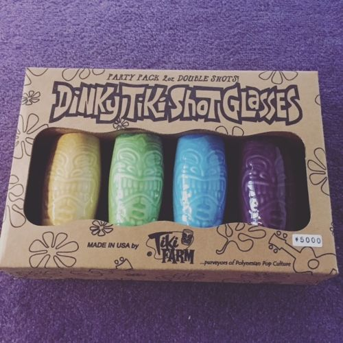 TIKIFARM SHOTGLASS SET