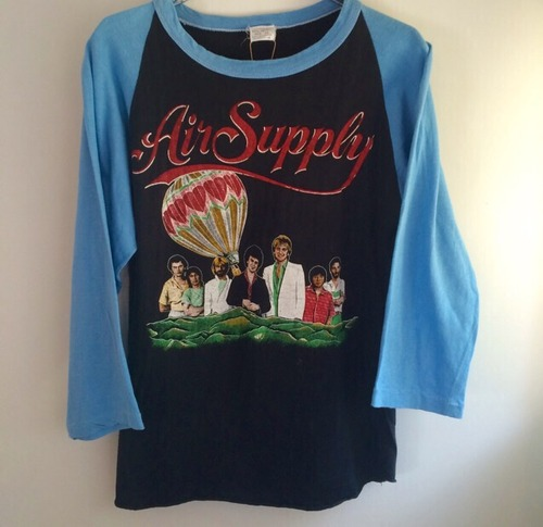 80s vintage Air Supply PLTシャツ