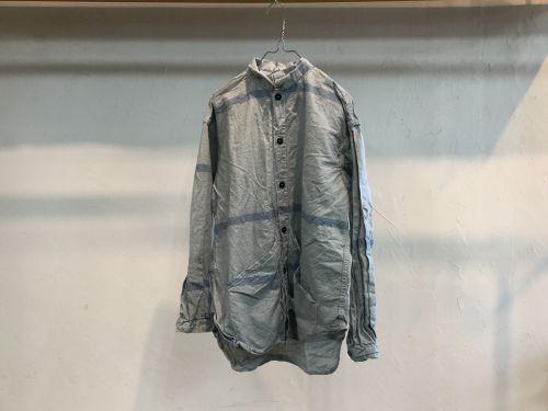 """TENDER Co.""""Laundry Cloth Wallaby Pocket Tail Shirts Rinsed"""""""