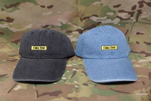 CHILL TIME 6 PANEL cap (デニム/denim)