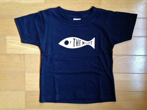 KIDS-Tシャツ [ FISH OF THE NIGHT ]  - NAVY