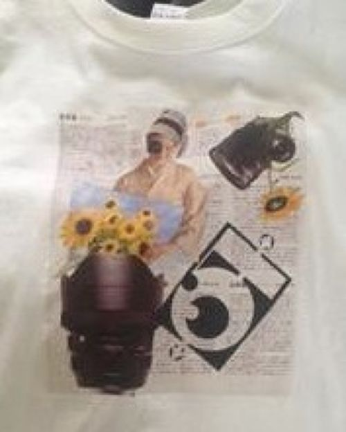 "受注生産♪ Ben Wei ""Collage art"" tshirt"