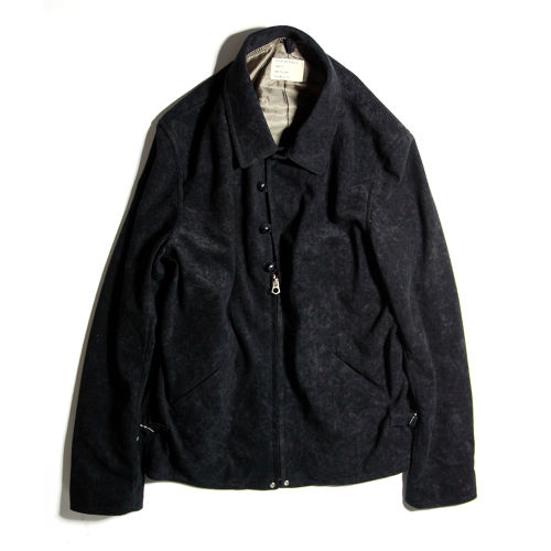 40'S ZIP&BUTTON JACKET BLACK