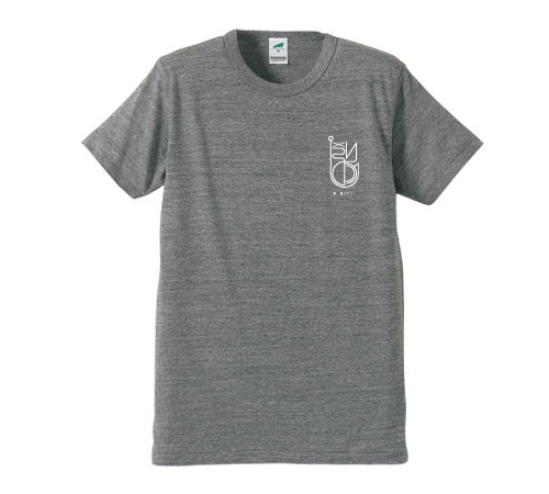 BURITSU LOGO T Tri-Blend :Vintage heather