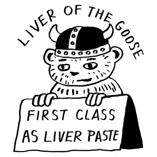 LIVER OF THE GOOSE