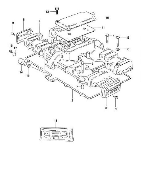 11 : GASKET BREATHER COVER (NA)