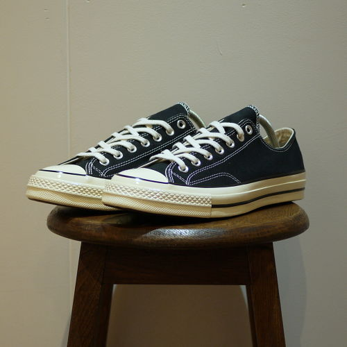 """CONVERSE Chuck Taylor 1970S (CT 70 LOW) Size5,9 """"Black,Dead Stock"""""""