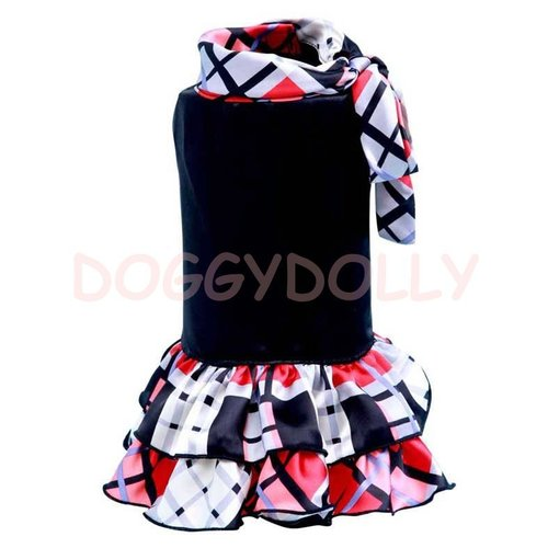 Red plaid dress ◆Doggydolly ◆