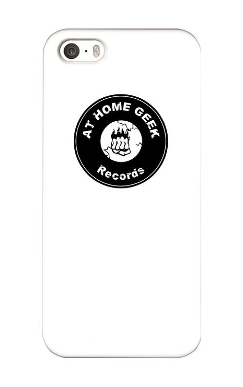 AT HOME GEEK Recordsロゴ iPhone5 / 5s / SEケース
