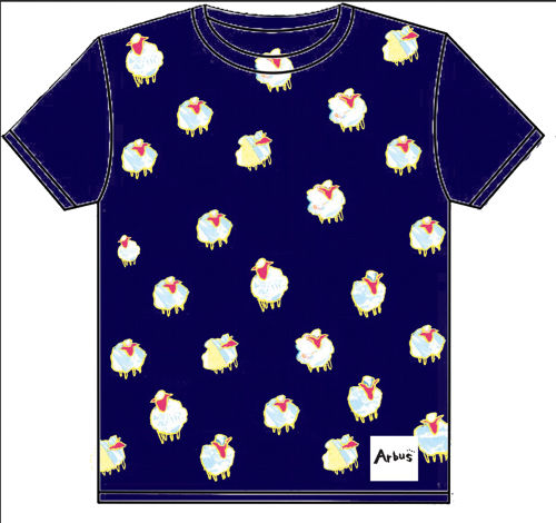 Arbus The Sheep Tシャツ