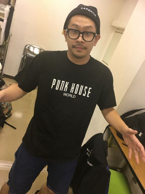 PUNK HOUSETシャツ