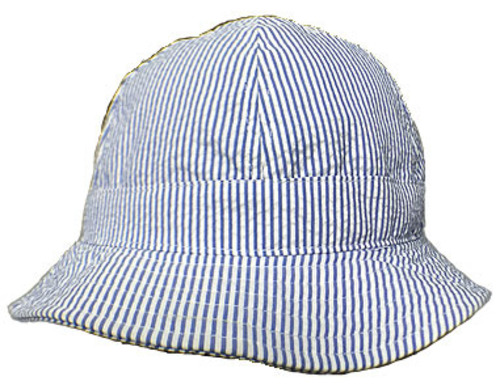 NEWERA Explorer Seersucker ブルー(made with COOLMAX® fabric)