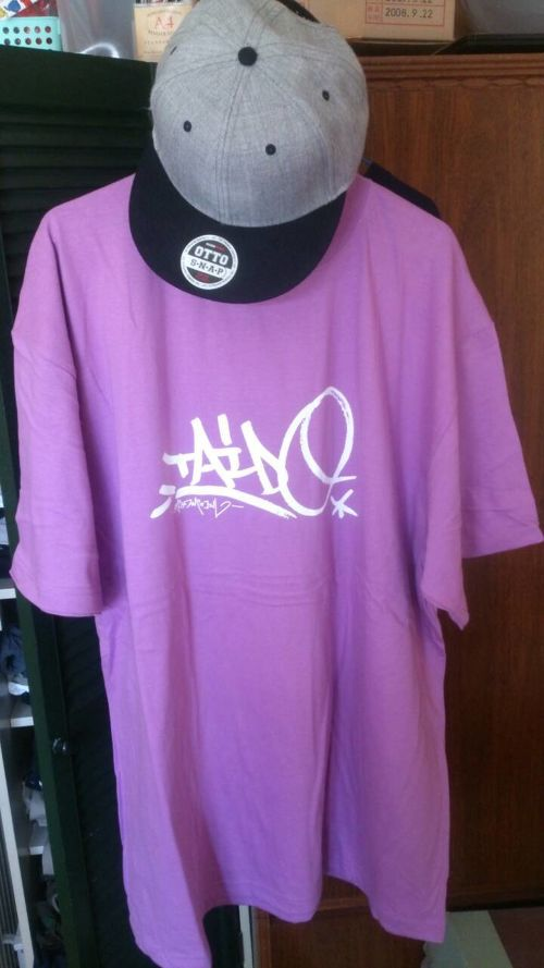 胎動 T-shirt  (INNTANA DESIGN) PURPLE