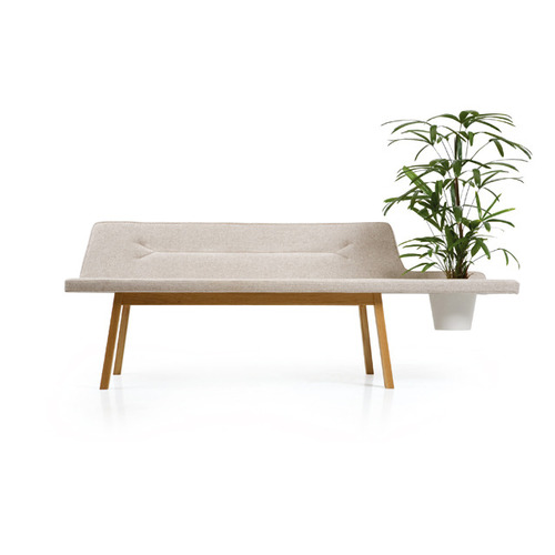 031 Lin pod bench | oak