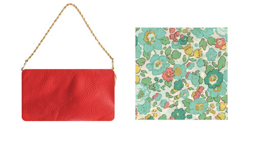 red lether ×  Liberty(green D'anjo)